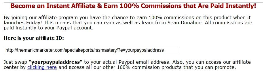 Online Marketing Best Practices: Jeder ist sofort ein Affiliate - ohne Registrierung!