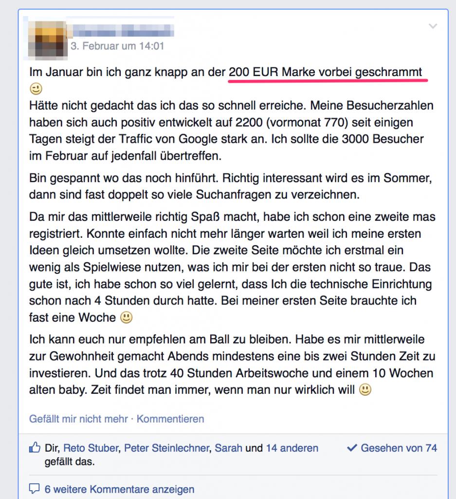ScreenshotInterneFacebookGruppe